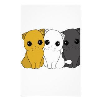 Niedliche Katzen Briefpapier