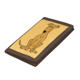 Niedliche Kitz-Windhund-Hundegeldbörse