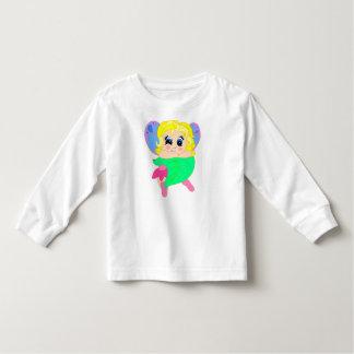 niedliche kleine Fee Kleinkinder T-shirt