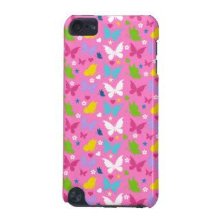 Niedliche kleine rosa Schmetterlinge iPod Touch 5G Hülle
