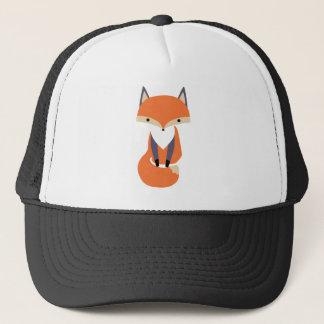 Niedliche kleine roter Fox-Illustration Truckerkappe