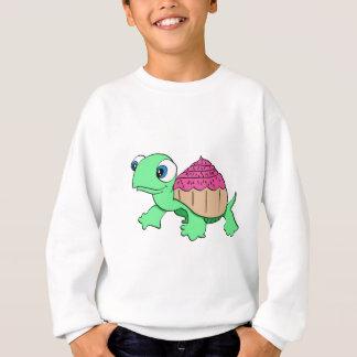 Niedliche Kuchenschildkröte Sweatshirt