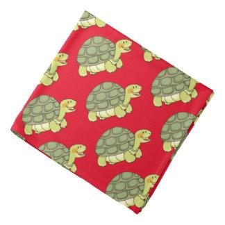 niedliche lächelnde Schildkröte/Schildkröte Kopftuch