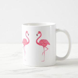 Niedliche rosa Flamingo-Illustration Tasse