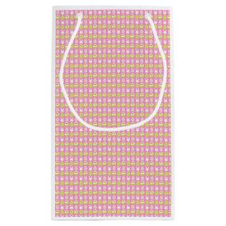 Niedliche rosa Geschenk-Tasche Kleine Geschenktüte