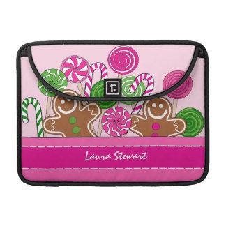 Niedliche rosa Weihnachtslebkuchen Sleeve Für MacBooks
