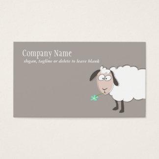 Niedliche Schaf-Geschäfts-Karte Visitenkarten