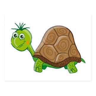 Niedliche Schildkröte - Postkarte