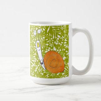 Niedliche Schnecke-Tasse durch Kind, das Sie Tasse