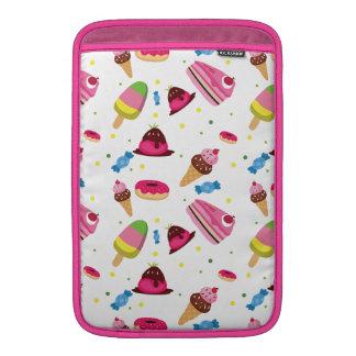 Niedliche Süßigkeit und Bonbon farbiges Muster MacBook Air Sleeve