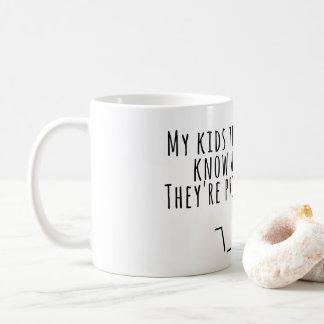 Niedliche Tasse für Eltern