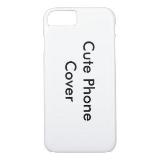 Niedliche Telefon-Deckungszusagen iPhone 7 Hülle