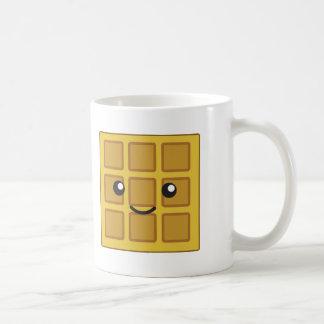 Niedliche Waffel Kaffeetasse