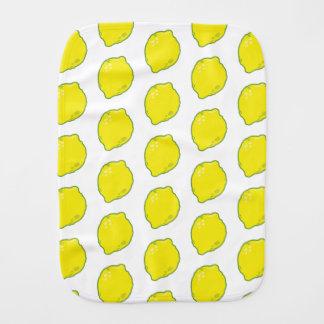 Niedliche Zitrone Baby Spucktuch