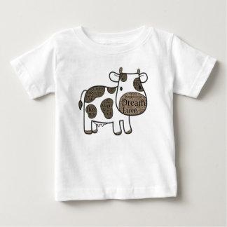 Niedlicher Baby-Geldstrafe-Jersey-T - Shirt mit