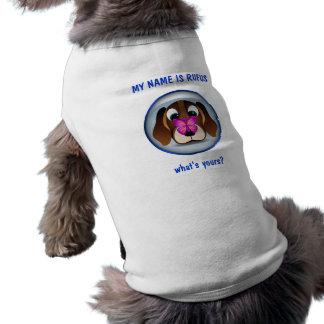 Niedlicher Beagle-Welpen-Hund und T-Shirt