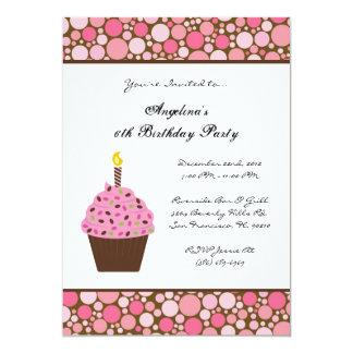 NIEDLICHER Bonbon scherzt Spaß-Geburtstags-Party 12,7 X 17,8 Cm Einladungskarte
