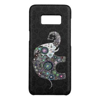 Niedlicher bunter Blumenelefant Case-Mate Samsung Galaxy S8 Hülle
