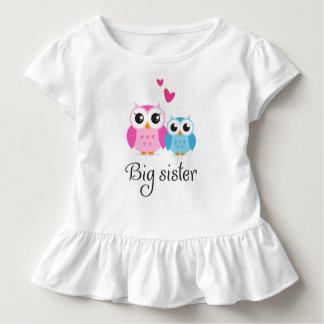 Niedlicher Cartoon des kleinen Bruders der großen Kleinkinder T-shirt