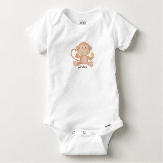 Niedlicher das Baby-Affe des Babys Baby Strampler