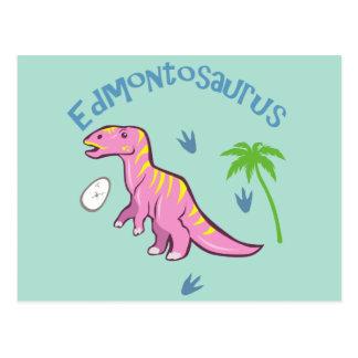 Niedlicher Edmontosaurus Postkarte
