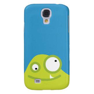 Niedlicher grüner Monster iPhone 3G Kasten Galaxy S4 Hülle
