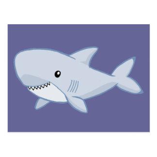 Niedlicher Haifisch Postkarte