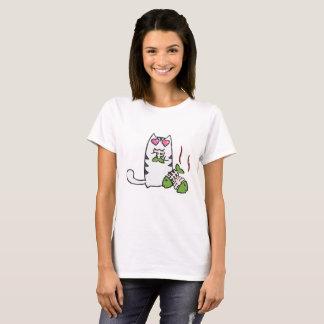Niedlicher Kitty-T - Shirt