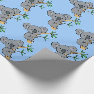 Niedlicher Koala-Bär Geschenkpapier