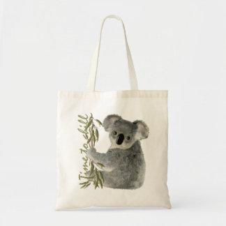 Niedlicher Koala Budget Stoffbeutel