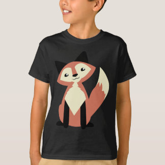 Niedlicher Kopf-Neigung Fox T-Shirt