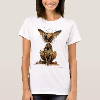 Niedlicher lustiger kleiner Hund T-Shirt