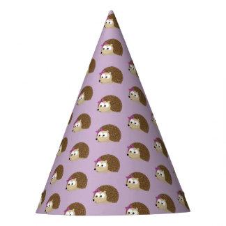 Niedlicher Mädchen-Igel Partyhütchen
