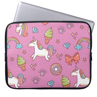 Niedlicher magischer Unicorn Laptop Sleeve