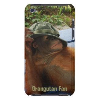 Niedlicher Orang-Utan im Armee-Hut Barely There iPod Hülle