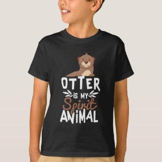 Niedlicher Otter ist mein Geist-Tierdruck T-Shirt