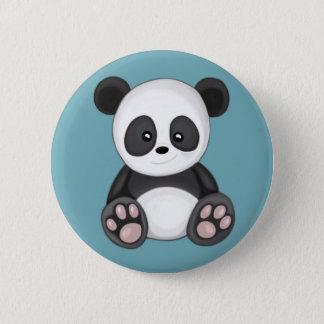 Niedlicher Panda Runder Button 5,7 Cm