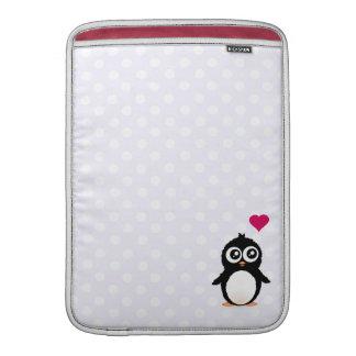 Niedlicher Penguin-Cartoon MacBook Sleeve