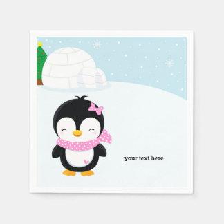 Niedlicher Penguin Servietten