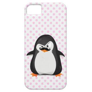 Niedlicher Pinguin mit lustigem Schnabel auf iPhone 5 Cover