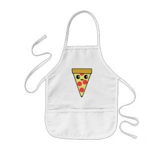 Niedlicher Pizza-Charakter Kinderschürze