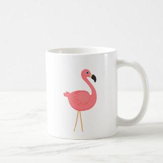 Niedlicher rosa Flamingo Kaffeetasse