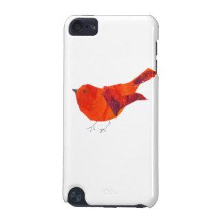 Niedlicher roter Vogel iPod Touch 5G Hülle