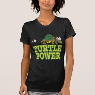 niedlicher Schildkröte-Cartoon des T-Shirt