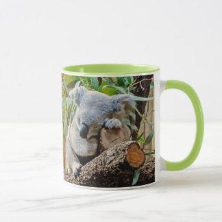 Niedlicher Schlafenkoala-Bär Tasse