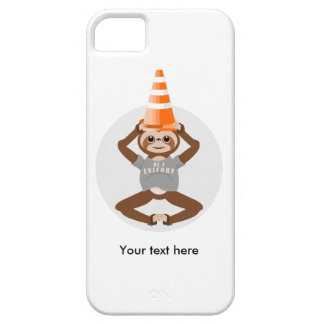 Niedlicher Sloth ist ein Unicorn iPhone 5 Cover