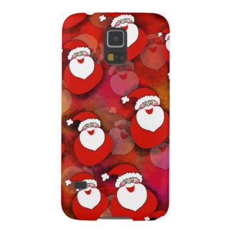 Niedlicher, süßer Weihnachtsmann mit Geschenken. Galaxy S5 Hülle