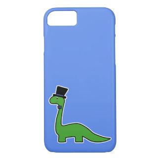 Niedlicher und extravaganter grüner Dinosaurier iPhone 8/7 Hülle