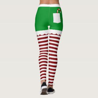 Niedlicher Weihnachtself Leggings