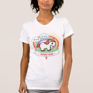 Niedlicher weißer Unicorn T-Shirt
